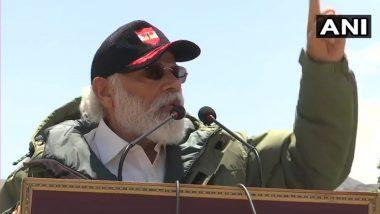 लेह में गरजे पीएम मोदी, चीन को कड़ा संदेश देते हुए कहा 'विस्तारवाद का युग खत्म, विकासवाद का शुरू'