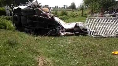पाकिस्तान के पंजाब में ट्रेन और सिख तीर्थयात्रियों की बस के बीच भीषण टक्कर, कम से कम 20 की मौत