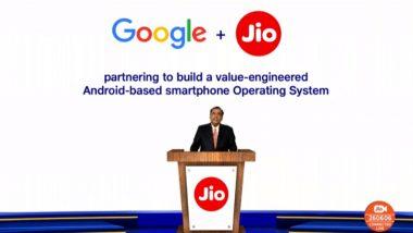 RIL AGM 2020: रिलायंस जियों में गूगल करेगी 33,737 करोड़ रुपये का निवेश, मुकेश अंबानी ने किया JIO 5G का ऐलान