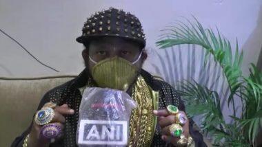 ओडिशा: कोविड-19 से बचने के लिए कटक के बिजनेसमैन ने बनवाया 3.5 लाख रुपये का 'गोल्ड मास्क'