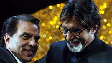 कोरोना से जूझ रहे अमिताभ बच्चन को धर्मेंद्र ने भेजा संदेश, ट्वीट मेंदिखी जय और वीरू की दोस्ती