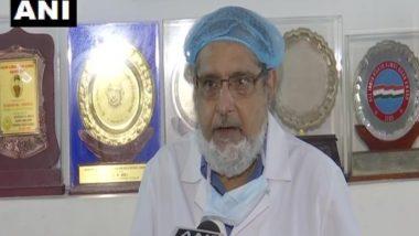 Coronavirus: सीनियर चिकित्सक डॉ. एम. वाली बोले-कोरोना के 98 फीसदी मामले खतरनाक नहीं, हम स्टेज 3 पर नहीं पहुंचे