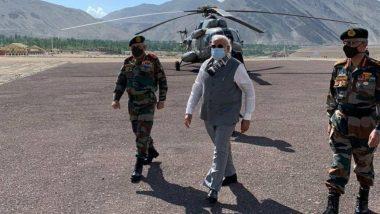 चीन से तनाव के बीच अचानक लेह पहुंचकर PM मोदी ने ली सारी जानकारी, देखें वीडियो