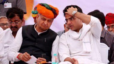 राजस्थान का सियासी संकट गहराया, कांग्रेस आज अपने सभी जिला मुख्यालयों में करेगी बीजेपी के खिलाफ धरना-प्रदर्शन