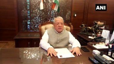 Rajasthan Political Crisis: राज्यपाल कलराज मिश्र ने सीएम अशोक गहलोत को दिया विधानसभा सत्र बुलाने का आदेश