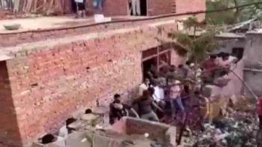 गाजियाबाद: मोमबत्ती की फैक्ट्री में भीषण धमाका, 7 लोगों की मौत 4 घायल, CM योगी ने मांगी जांच रिपोर्ट