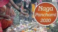 Nag Panchami 2020: नाग पंचमी कब है? जानें शुभ मुहूर्त, पूजा विधि और सावन के महीने में मनाए जाने वाले इस पर्व का महत्व