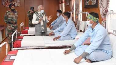 पीएम मोदी का लेह अस्पताल दौरा: तस्वीर पर उठे सवाल पर रक्षा मंत्रालय ने दिया ये जवाब