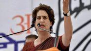 UP Election 2022: लखनऊ प्रवास पर पहुंची प्रियंका गांधी, यूपी विधानसभा चुनाव की तैयारियों पर करेंगी मंथन