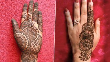 Raksha Bandhan 2020 Mehndi Designs: रक्षा बंधन पर अपनी हथेली में मेंहदी लगाकर बढाएं इस पर्व की शुभता, देखें लेटेस्ट और आकर्षक मेहंदी डिजाइन्स (Watch Pics & Videos)