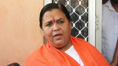 Rajasthan Political Crisis: राजस्थान में जारी सियासी संग्राम के बीच उमा भारती का कांग्रेस पर बड़ा हमला, कहा- राहुल गांधी और उनका खानदान इसके लिए जिम्मेदार