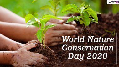 World Nature Conservation Day 2020: विश्व प्रकृति संरक्षण दिवस आज, जानें प्राकृतिक संसाधनों के संरक्षण के बारे में जागरूकता बढ़ाने वाले इस दिन का इतिहास और महत्व