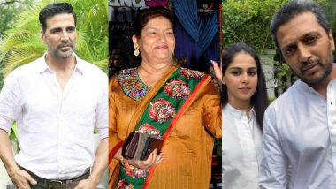 RIP Saroj Khan: वेटेरन कोरियोग्राफर सरोज खान के निधन पर अक्षय कुमार, रितेश देशमुख, जेनेलिया डीसूजा समेत इन सेलेब्स ने ट्वीट कर दी श्रद्धांजलि