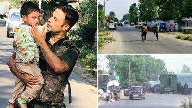 जम्मू-कश्मीर: सोपोर में आतंकी हमले के दौरान बाल-बाल बचा 3 साल का मासूम, मसीहा बनकर पुलिस ने गोलियों की चपेट में आने से बच्चे को बचाया
