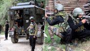 जम्मू-कश्मीर: कुलगाम में आतंकियों और सुरक्षा बालों के बीच मुठभेड़ जारी, सेना ने की इलाके की घेराबंदी