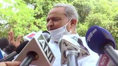 Rajasthan Political Crisis: सीएम अशोक गहलोत का केंद्र पर बड़ा हमला-राज्यसभा में TDP सांसदों का मर्जर सही और यहां का मर्जर गलत, कहां गया बीजेपी का चाल-चरित्र