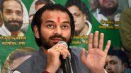 बिहार: आरजेडी नेता तेजप्रताप यादव पहुंचे ब्रजभूमि, पवित्र कुंडों और मंदिरों का कर रहे हैं दर्शन