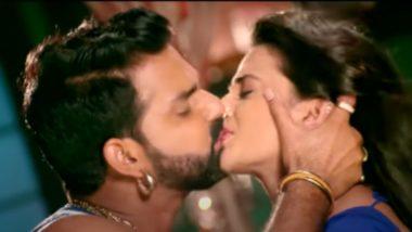 Bhojpuri Hot Song: किसिंग सीन्स से भरा हुआ है अक्षरा सिंह और पवन सिंह का ये बोल्ड गाना, इंटरनेट पर हुआ वायरल
