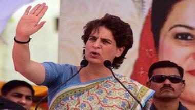 प्रियंका गांधी का बड़ा हमला, कहा- UP सरकार अपराधियों को दे रही संरक्षण