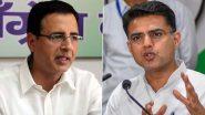 सचिन पायलट को लेकर कांग्रेस नेता रणदीप सुरजेवाला ने कहा- बीजेपी में नहीं जाना चाहते तो बंद करें उनके नेताओं से बात, वापस परिवार में आएं
