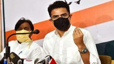 Rajasthan Congress Crisis: सचिन पायलट कल सुबह 10 बजे करेंगे प्रेस कांफ्रेंस, पार्टी के एक्शन पर तोड़ेंगे चुप्पी