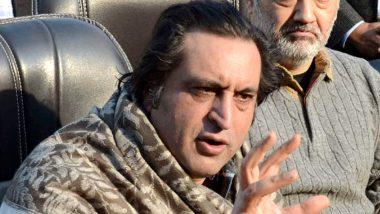 जम्मू-कश्मीर: पीपुल्स कांफ्रेंस के नेता सज्जाद लोन हिरासत से रिहा, अनुच्छेद 370 हटने के बाद किए गए थे नजरबंद