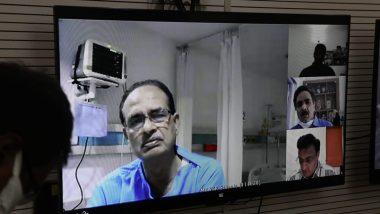 MP: कोरोना संक्रमित सीएम शिवराज सिंह चौहान ने हॉस्पिटल से वीडियो कांफ्रेंसिंग के जरिए COVID-19 की स्थिति पर समीक्षा बैठक की