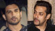 सलमान खान से सुशांत सिंह राजपूत सुसाइड केस में मुंबई पुलिस नहीं करेगी पूछताछ