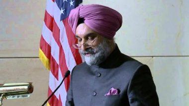 America: अमेरिका में भारत के राजदूत तरनजीत संधू ने व्हाइट हाउस में युवा नेताओं से बातचीत की