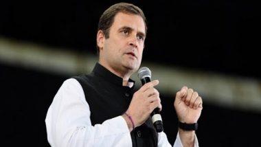 MP By-Polls 2020: मध्य प्रदेश के रण में कूदे कांग्रेस के युवराज राहुल गांधी, कहा- हमने किसानों का कर्ज माफ किया, बीजेपी ने झूठे वाद किए