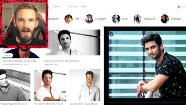 यूट्यूब स्टार प्यूडीपाई ने सुशांत सिंह राजपूत को दी श्रद्धांजलि, प्रशंसक उनके वीडियो देखकर हुए प्रभावित
