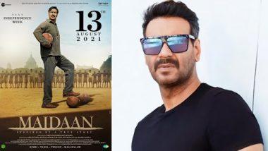अजय देवगन की फिल्म मैदान की नई रिलीज डेट आई सामने, अगले साल Independence Day के मौके पर मारेंगे बाजी
