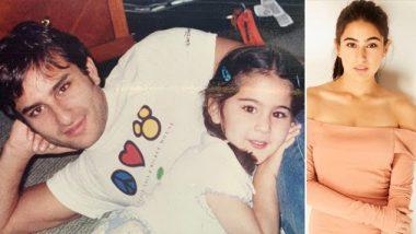 पिता सैफ अली खान को अपना 'मिकी माउस' मानती हैं सारा अली खान