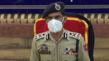 सोपोर आतंकी हमले पर कश्मीर IG विजय कुमार ने कहा- आतंकवादियों ने एक महीने में दूसरी बार मस्जिद से गोलीबारी की