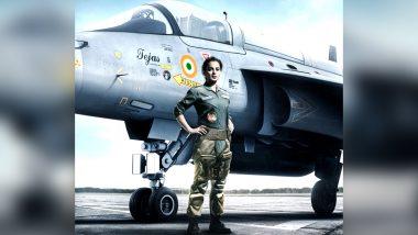 Tejas: फाइटर पायलट बन दुश्मनों के दांत खट्टे करेंगी कंगना रनौत, फिल्म तेजस से एक्ट्रेस का नया लुक आया सामने