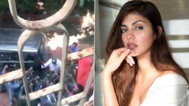 Rhea Chakraborty: सुशांत सिंह राजपूत की गर्लफ्रेंड रिया चक्रवर्ती ने मुंबई पुलिस से मांगी मदद, कहा- मेरे परिवार की जान को है खतरा, देखें Video