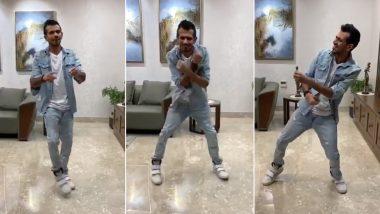 Dhanashree Verma ने इंस्टाग्राम पर शेयर किया Yuzvendra Chahal का स्लो मोशन गानें पर डांस, देखें वीडियो