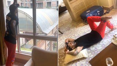 IPL 2020 Update: शिखर धवन मैदान में उतरने के लिए बेकरार, इस तरह होटल में बिता रहे हैं दिन, देखें वीडियो