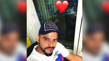 IPL 2020 Update: UAE में पत्नी प्रियंका चौधरी को मिस कर रह हैं सुरेश रैना, सोशल मीडिया पर तस्वीर शेयर कर जताया प्यार