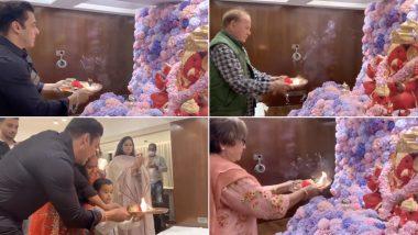 Ganesh Chaturthi 2020: सोहेल खान के घर पधारे बाप्पा, सलमान खान संग पूरा परिवार आरती करते दिखा (Video)