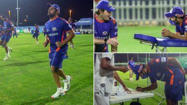 IPL 2020 Players' Update: UAE में गर्मी से परेशान हैं मुंबई इंडियंस के कप्तान रोहित शर्मा, कहा- यहां बहुत गर्मी है