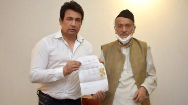 सुशांत सिंह राजपूत केस में सीबीआई जांच की मांग करते हुए राज्यपाल भगत सिंह कोश्यारी से मिले शेखर सुमन