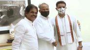 Congress leader Sachin Pilot Meets CM Ashok Gehlot: सचिन पायलट मुख्यमंत्री अशोक गहलोत से मिलने उनके घर पहुंचे, बगावत के बाद दोनों नेताओं की ये पहली मुलाकात