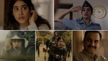 Gunjan Saxena Trailer: जाह्नवी कपूर की फिल्म 'गुंजन सक्सेना: द कारगिल गर्ल' का ट्रेलर हुआ रिलीज, शाहरुख खान ने Video शेयर कर दी बधाई
