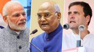 Janmashtami 2020: पीएम मोदी, राष्ट्रपति रामनाथ कोविंद और राहुल गांधी सहित इन नेताओं ने ट्वीट कर दी कृष्ण जन्माष्टमी की शुभकामनाएं