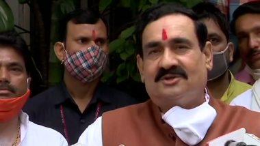 MP By-Election 2020 Result: राज्य के गृह मंत्री नरोत्तम मिश्रा ने मिठाई बांट मनाई खुशी, कहा- कांग्रेस में कुछ नहीं बचा
