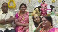 Karnataka: कोप्पल जिले के उद्योगपति श्रीनिवास मूर्ति ने अपने सपनों के घर में दिवंगत पत्नी माधवी की स्टैच्यू के साथ किया प्रवेश, देखें तस्वीर
