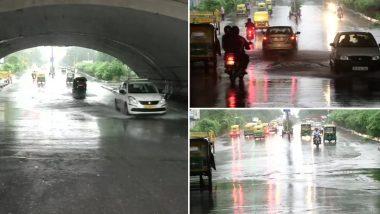 Delhi Rains Forecast: दिल्ली में बुधवार रात जमकर हुई बारिश,  मौसम विभाग ने जारी किया ये अलर्ट