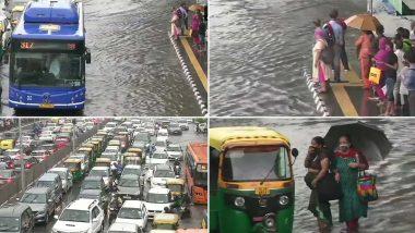 Delhi Rains Updates: दिल्ली में बारिश ने तोड़ा 121 साल का रिकॉर्ड, चारों तरफ पानी ही पानी, लोग दिखे परेशान