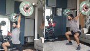 Virat Kohli Weightlifting Video: IPL शुरू होने से पहले विराट कोहली ने शुरू की एक्सरसाइज, देखें वीडियो